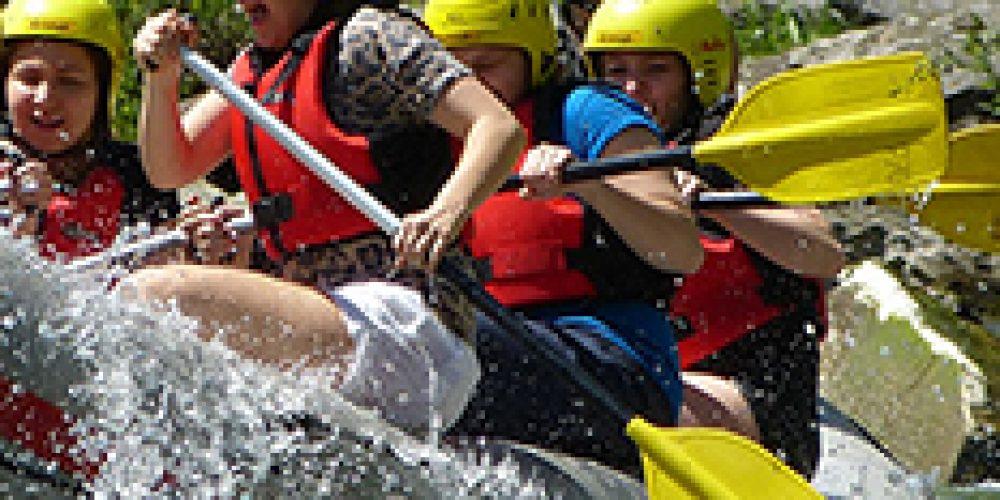 Sikor rafting