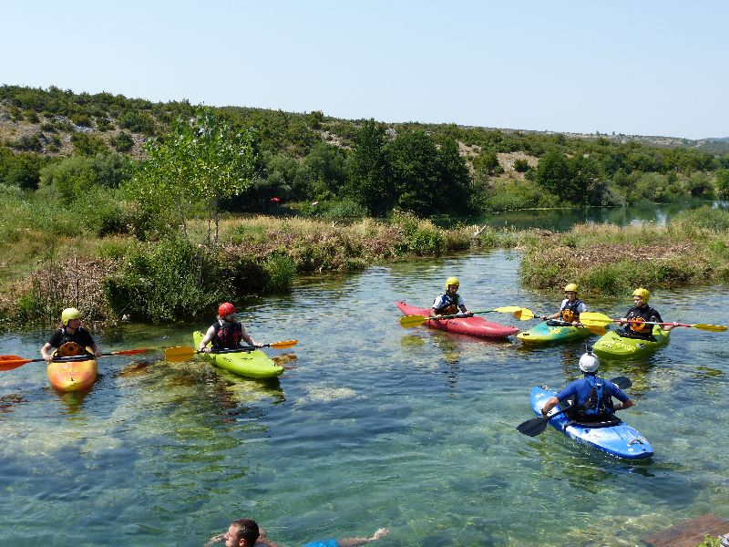 white water Chorwacja