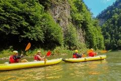 spływy kajakowe na Dunajcu